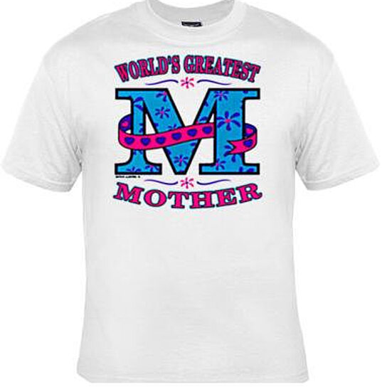 buy tshirts worlds greatest mother mom t shirt lovely. Black Bedroom Furniture Sets. Home Design Ideas