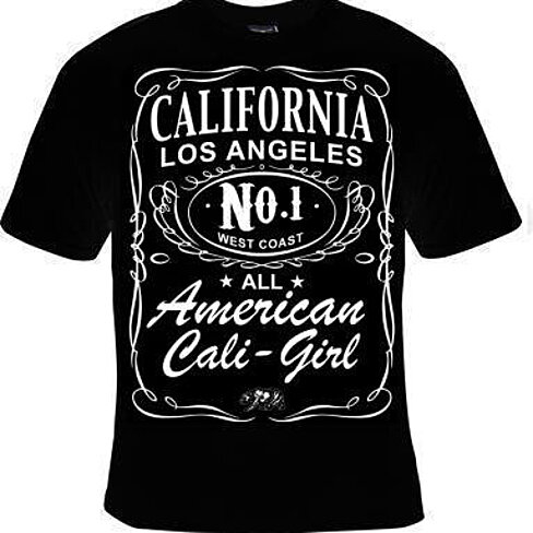 Buy unisex t shirts california american los angeles cali for Los angeles california shirt