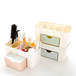 Desktop Cosmetic Storage Box 6 Grid Makeup Storage Drawer Box