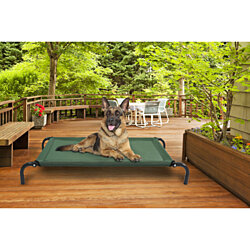 FurHaven Pet Cot Bed | Elevated Cot Pet Bed for Dogs & Cats - Available in Multiple Colors & Sizes