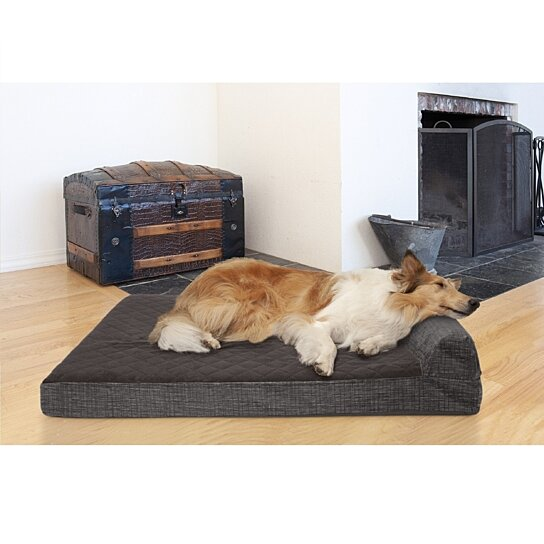 Buy Furhaven Pet Dog Bed Cooling Gel Memory Foam