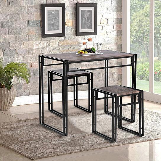 Set Breakfast Kitchen Dining Table