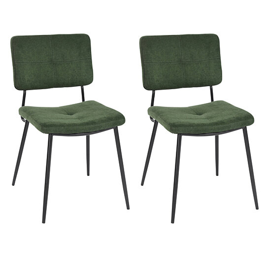 . Home Side Chairs Relax Leisure Dining Chairs Living Room Accent Chair Set  of 2
