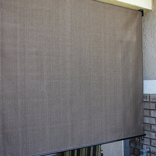 Buy 6x6 5 Privacy Roll Up Sun Shade Python Color 6 Foot
