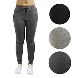 Women's Slim-Fit French Terry Jogger Sweatpants (2-Pack)
