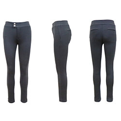 LP-4024 Women's Straight Leg Stretch Skinny Pants