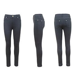 LP-4022 Women's Straight Leg Stretch Skinny Pants