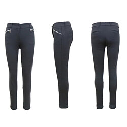 LP-4025 Women's Straight Leg Stretch Skinny Pants