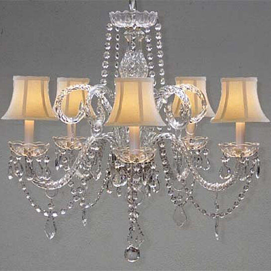Buy Crystal Chandelier Chandeliers Lighting With White