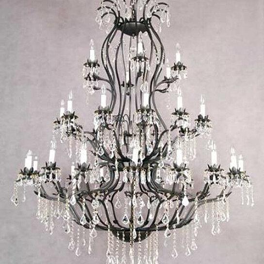 Buy Foyer Chandelier : Buy large foyer entryway wrought iron chandelier