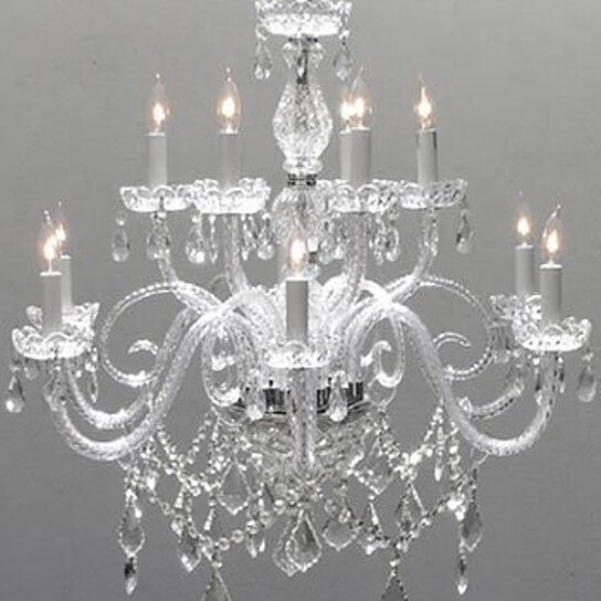 sneakers for cheap 559f7 600a2 Swarovski Crystal Trimmed Chandelier! Chandelier Lighting Crystal  Chandeliers H27