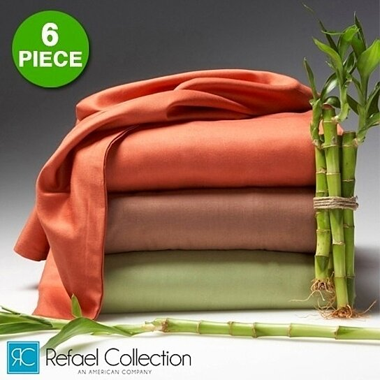 Buy 6 Piece Set: Hotel Lexington 2200 Series Rayon From Bamboo Bed Sheets  By The Original Best Bamboo™ By GearXS On OpenSky