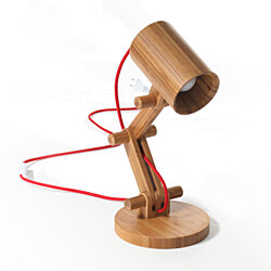 Bamboo 16'' Desk Lamp
