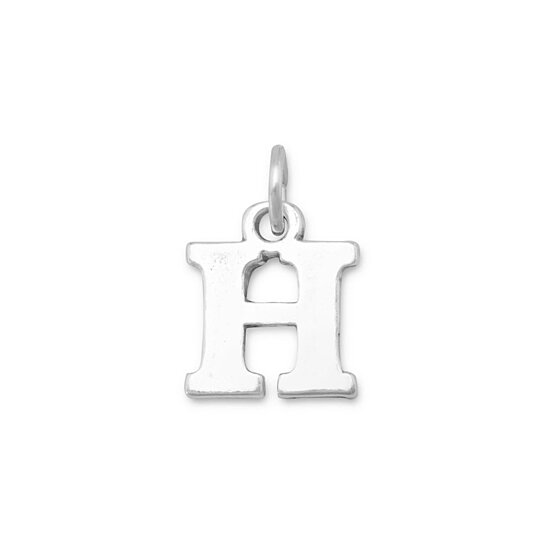 Buy greek alphabet letter charm eta by elina mira on opensky for Greek letters purchase