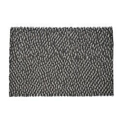 Chanda Handmade Wool Braided Shaggy Rug
