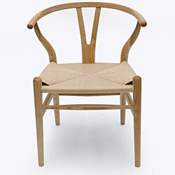 Wishbone Y Chair, Ash & Natural Cord
