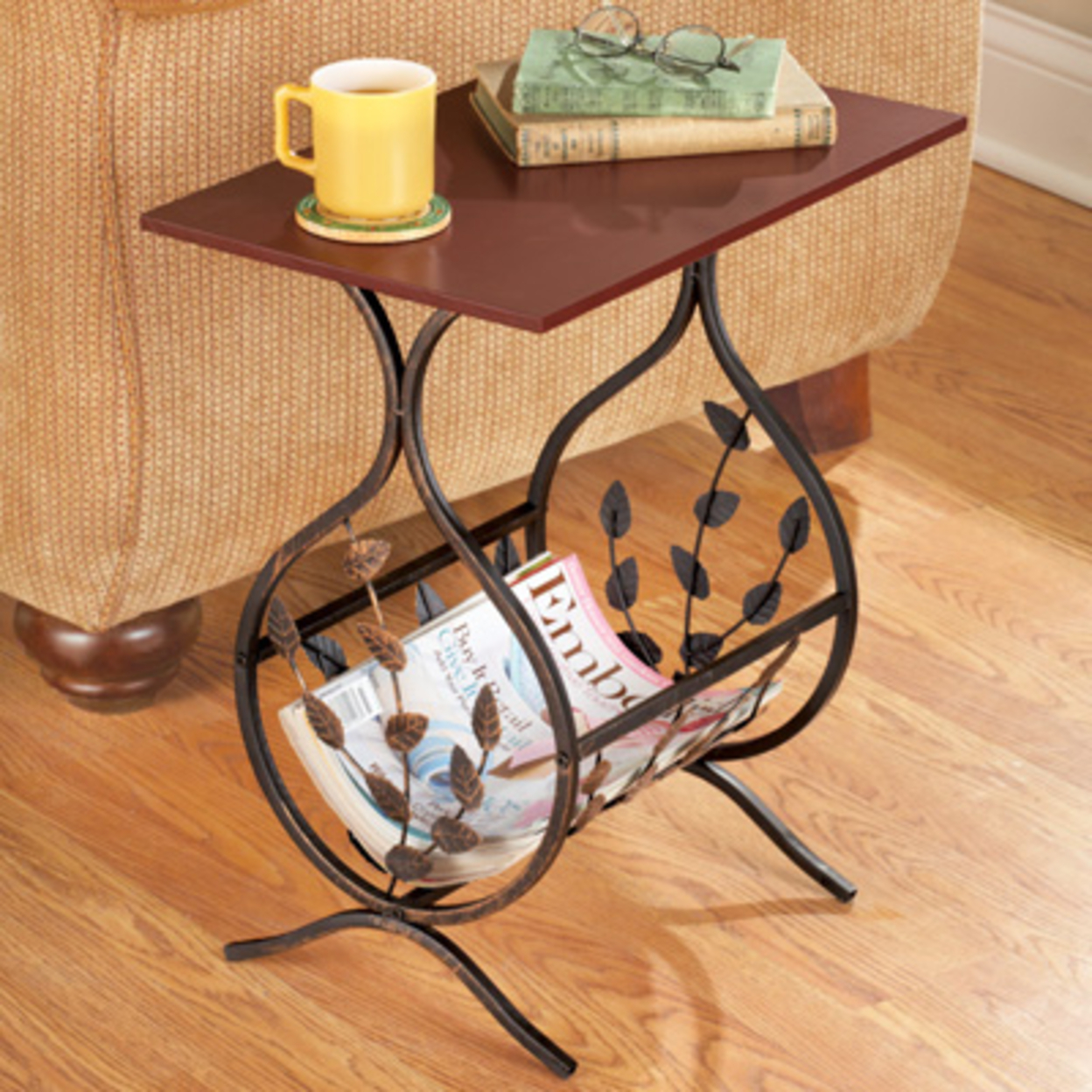 Wonderful image of side tables with magazine rack? I highly recommend Wood and Iron Side  with #BC860F color and 1248x1248 pixels