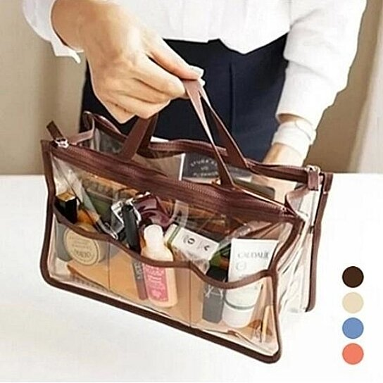 Buy Clear Purse Organizer Insert For Handbags Multi Colors By