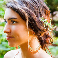 Fair Trade Mumbai Hoop Earring