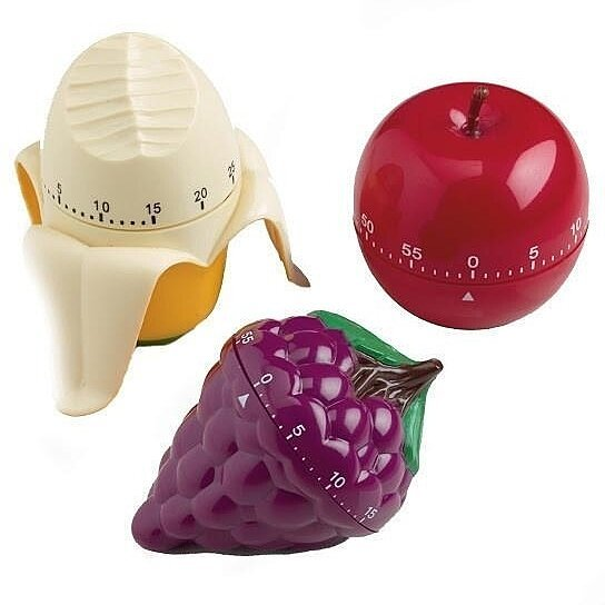 Cool Kitchen Accessories: Buy NEW Fruit Kitchen Timers. Unique Kitchen Accessories