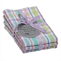 SPRING GARDEN HEAVYWEIGHT DISHCLOTHS - SET OF 6. Easter Colors.