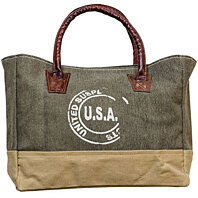 USA Stamped Canvas Bag.  NEW.