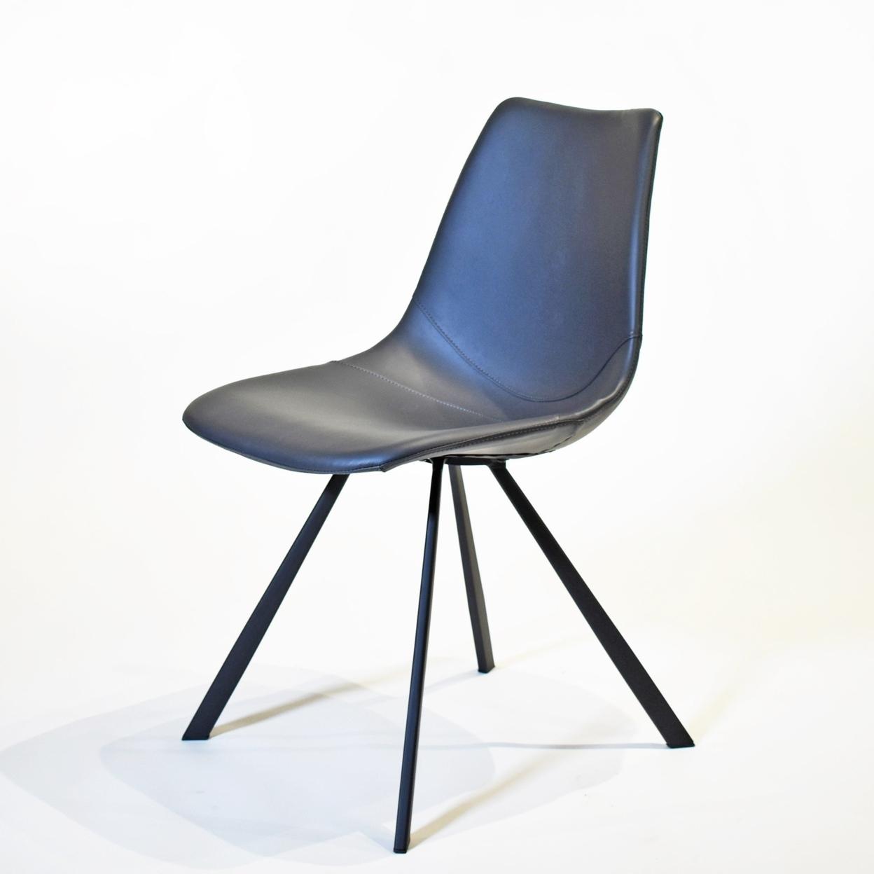 Paula Dining Chair, Set Of 4 Chairs Light Grey Fabric