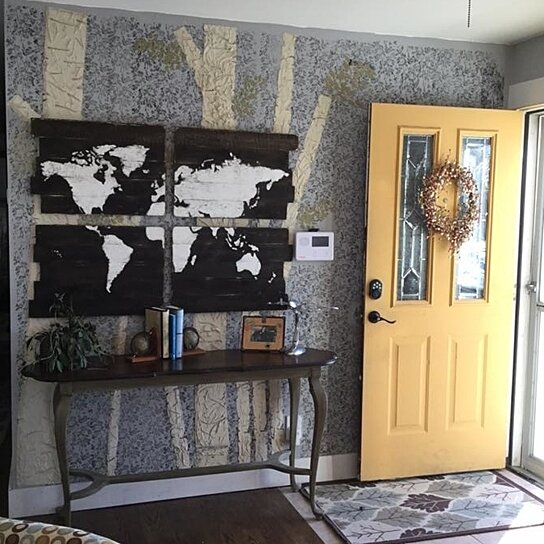 Buy World Map Wood Map Large Wooden Map Large World Map Wooden World Map Map Wall Hanging Map Of The World Rustic Home Decor By Girl In Air On