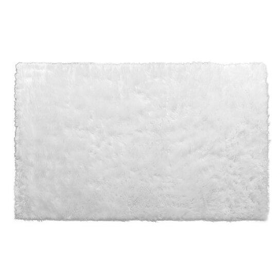 Buy Faux Sheepskin Fur Area Rug Rectangular White Or Black