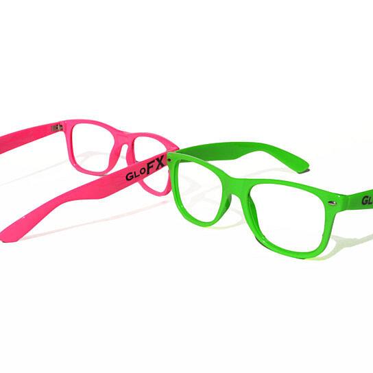 Buy GloFX Nerd Frame Glasses - No Lenses - Rave Eye Wear ...