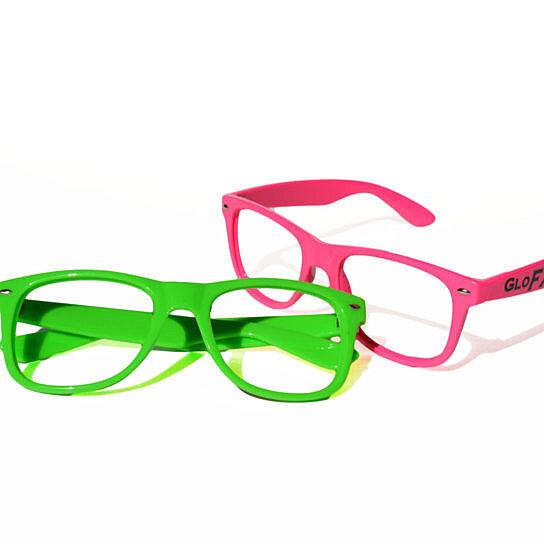 Glasses Frames No Lenses : Buy GloFX Nerd Frame Glasses - No Lenses - Rave Eye Wear ...