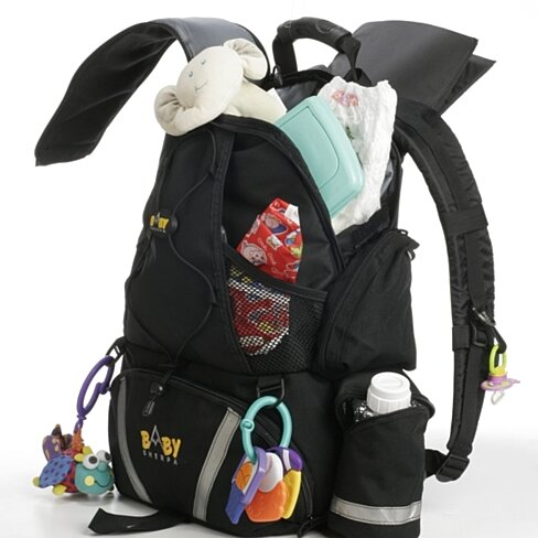 buy baby sherpa diaper backpack by go go babyz on opensky. Black Bedroom Furniture Sets. Home Design Ideas