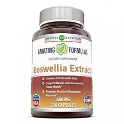 Amazing Nutrition Boswellia Extract - 600mg, 120 Capsules