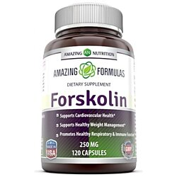 Amazing Nutrition Forskolin Extract - 250 Mg, 120 Capsules