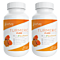 2 Pack - Go Pure Turmeric Curcumin with Bioperine -  120 Count
