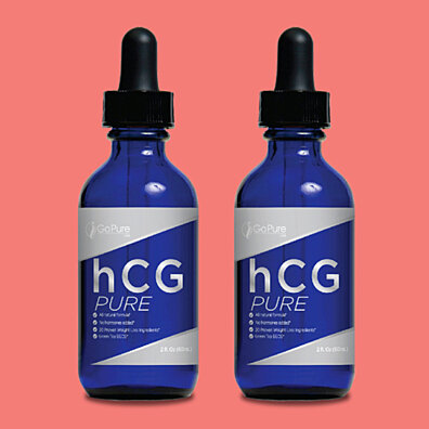 Go Pure hCG Pure Weight Loss Drops - 2PK