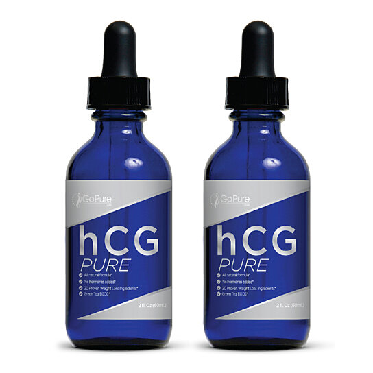 Buy Go Pure hCG Pure Weight Loss Drops - 2PK by Go Pure ...