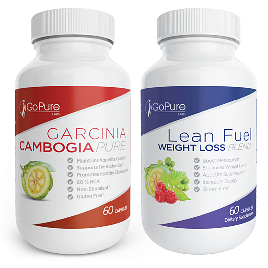 Go Pure Labs Garcinia Cambogia Lean Fuel 2 Pack