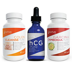 Perfect Diet Kit - Cleanse, hCG Diet Drops, and Garcinia Cambogia