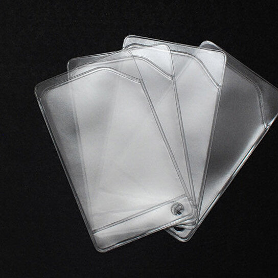 Buy Clear Vinyl Card Sleeves To Be Used With Graydogg Fan