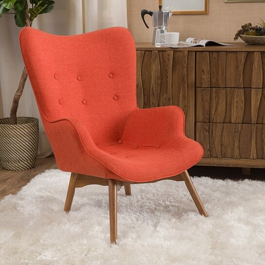 Buy Acantha Mid Century Modern Contour Lounge Chair By