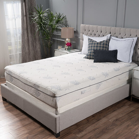Buy aloe gel memory foam 11 inch twin size smooth top mattress by gdfstudio on opensky Best deal on twin mattress