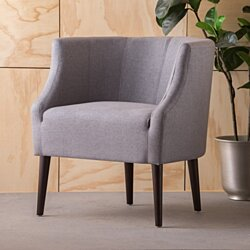 Altadena Comtempo Fabric Club Chair