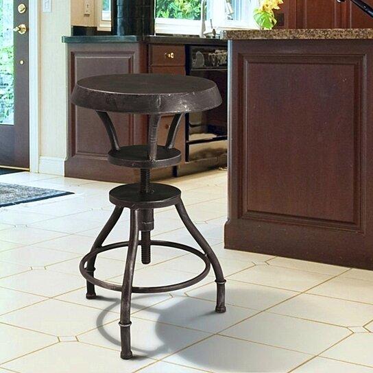 Sensational Austin Industrial Design Adjustable Height Bar Stool Gamerscity Chair Design For Home Gamerscityorg