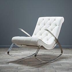 Barcelona City Modern Design Rocking Lounge Chair