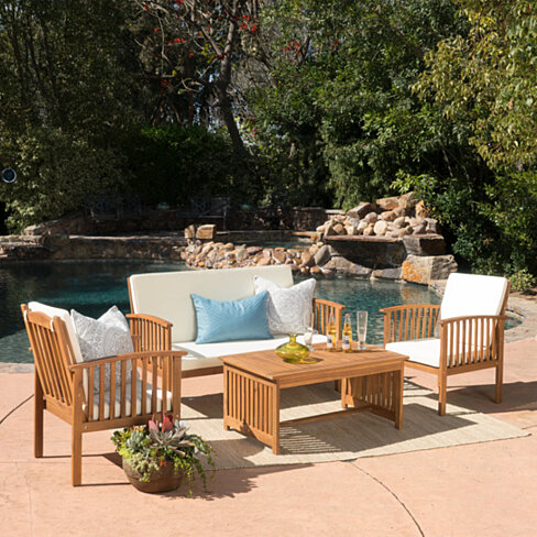 Beckley 4pc Outdoor Sofa Seating Set