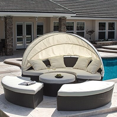 Bellagio 4-Piece Cabana Sectional Set