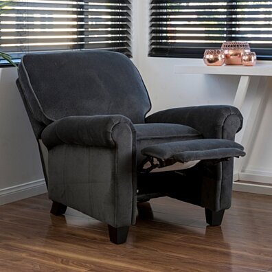 Denise Austin Home Kent Fabric Recliner Club Chair