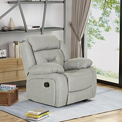 Betty Glider Recliner, Traditional, Overstuffed
