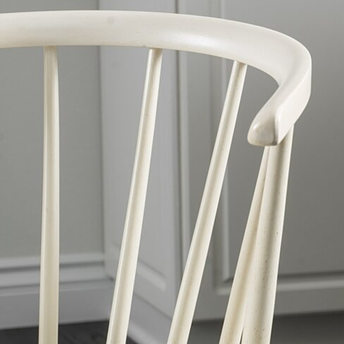 Bramote Countryside Rounded Back Spindle Dining Chair (Set of 2)